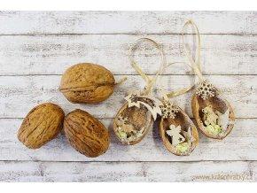 Vánoční ozdoby_ořechy