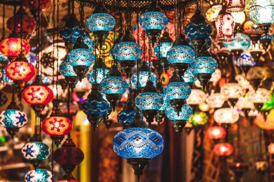 Orientální mozaikové lampy nejen pro romantické večery