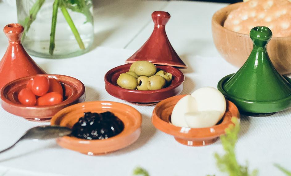 Marocká snídaně
