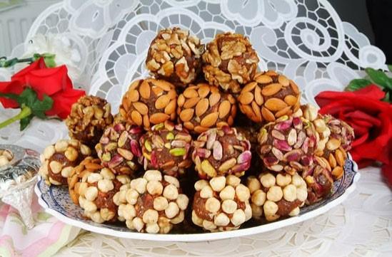 orientální turecká sladkost cezerye šeherezád