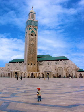 Mešita Hasana II. v Maroku