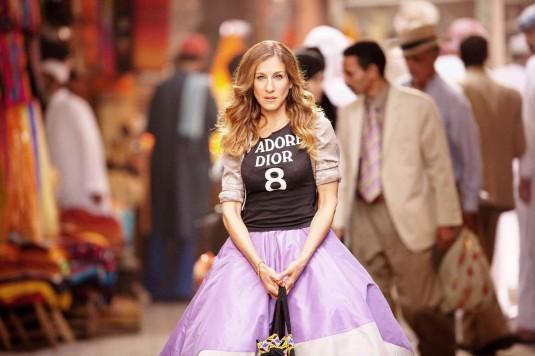Sarah Jessica Parker jako Carrie ve filmu Sex ve městě 2