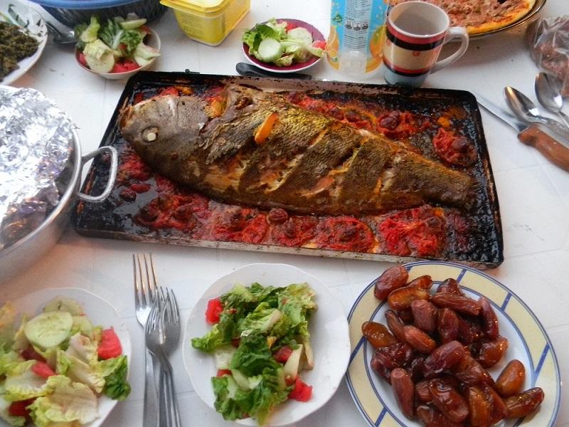 ryba s arganovým olejem