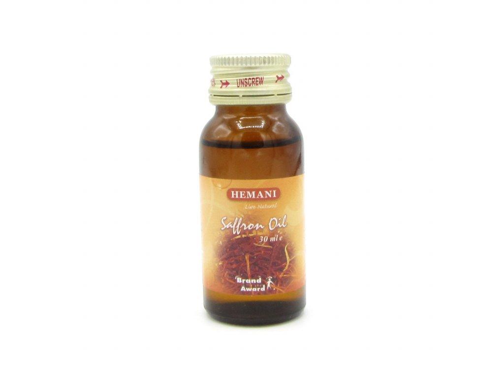 Šafránový olej - Hemani 30ml