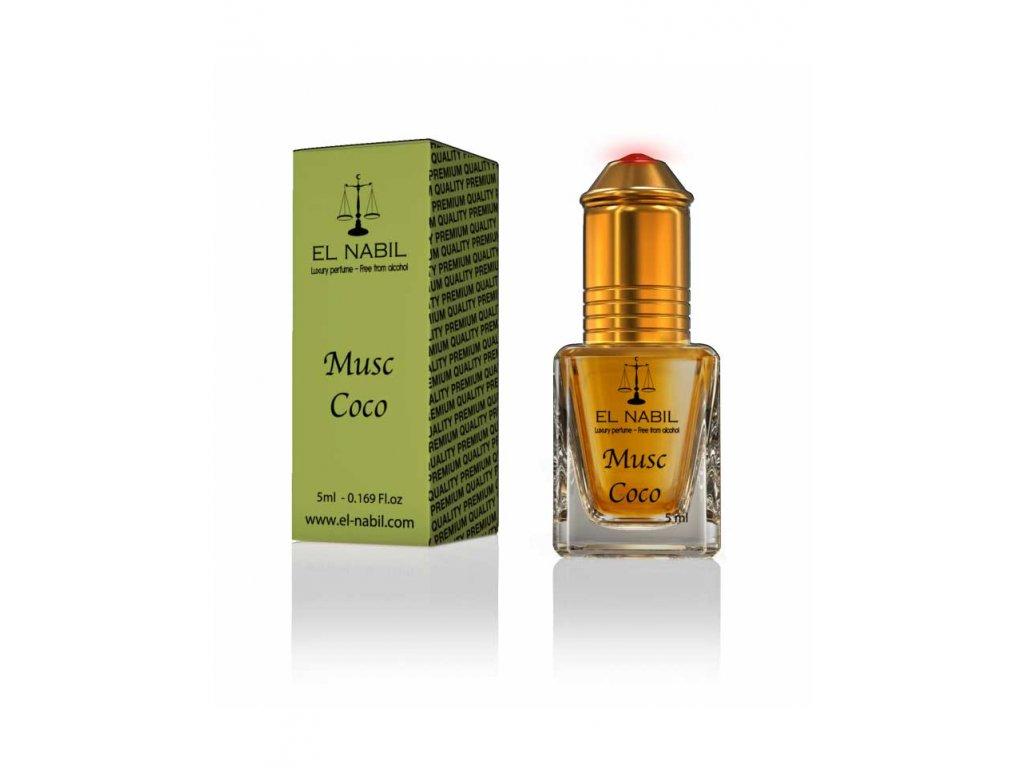 Orientální arabský parfém - Musc Coco - El Nabil 5ml