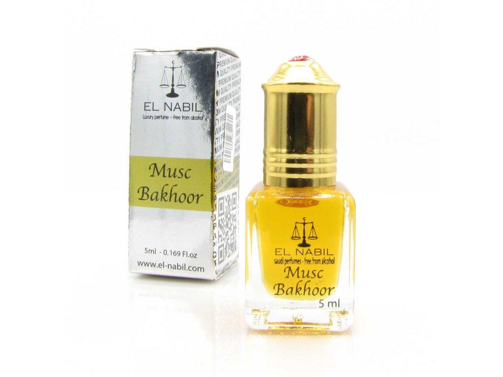 Orientální arabský parfém - Musc Bakhoor - El Nabil 5ml