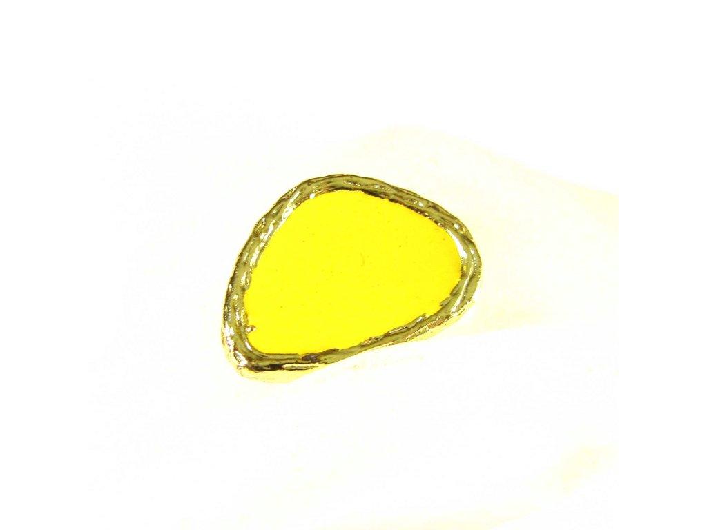 Prsten - zlato-žlutý