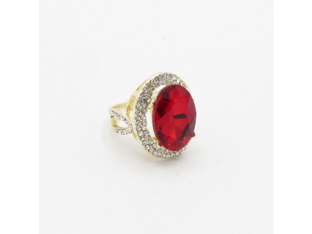 Prsten - Kadin - červený