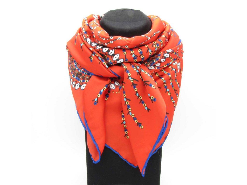 Šátek Hijab - Lauren - červený