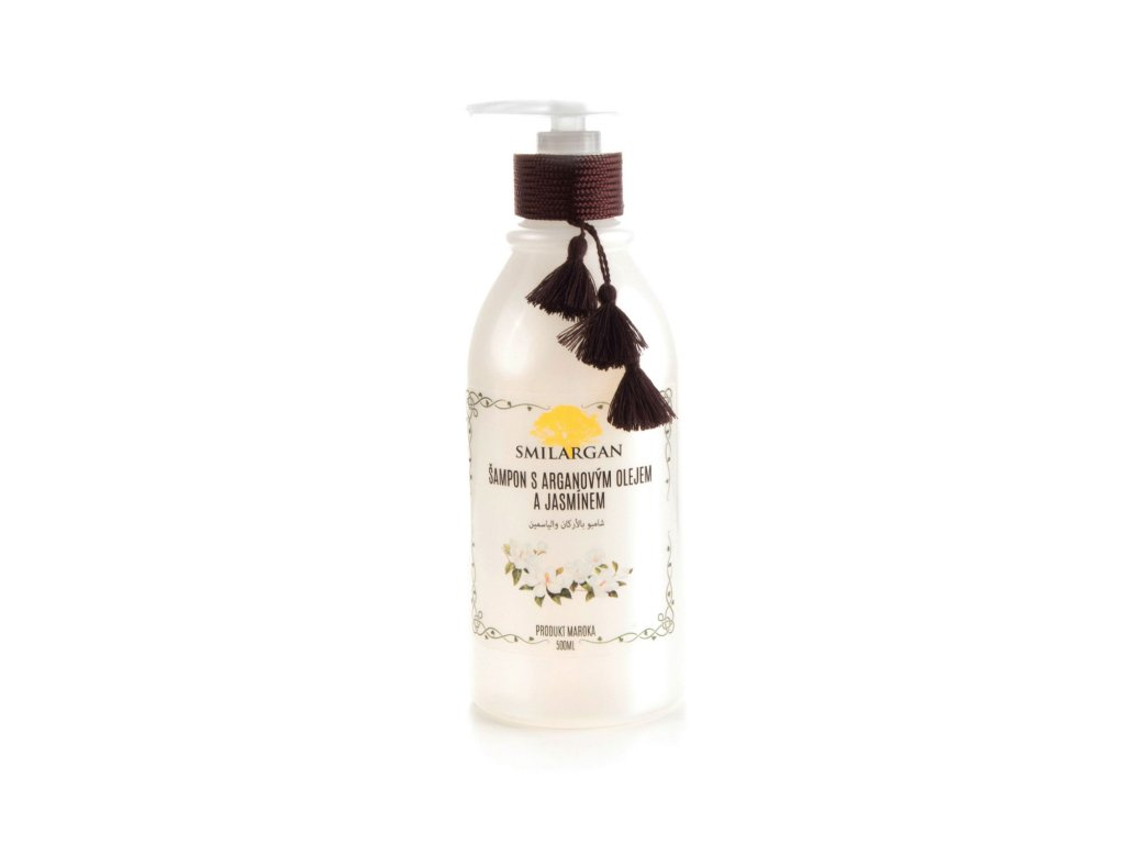 Smilargan Šampon s arganovým olejem a jasmínem 500 ml