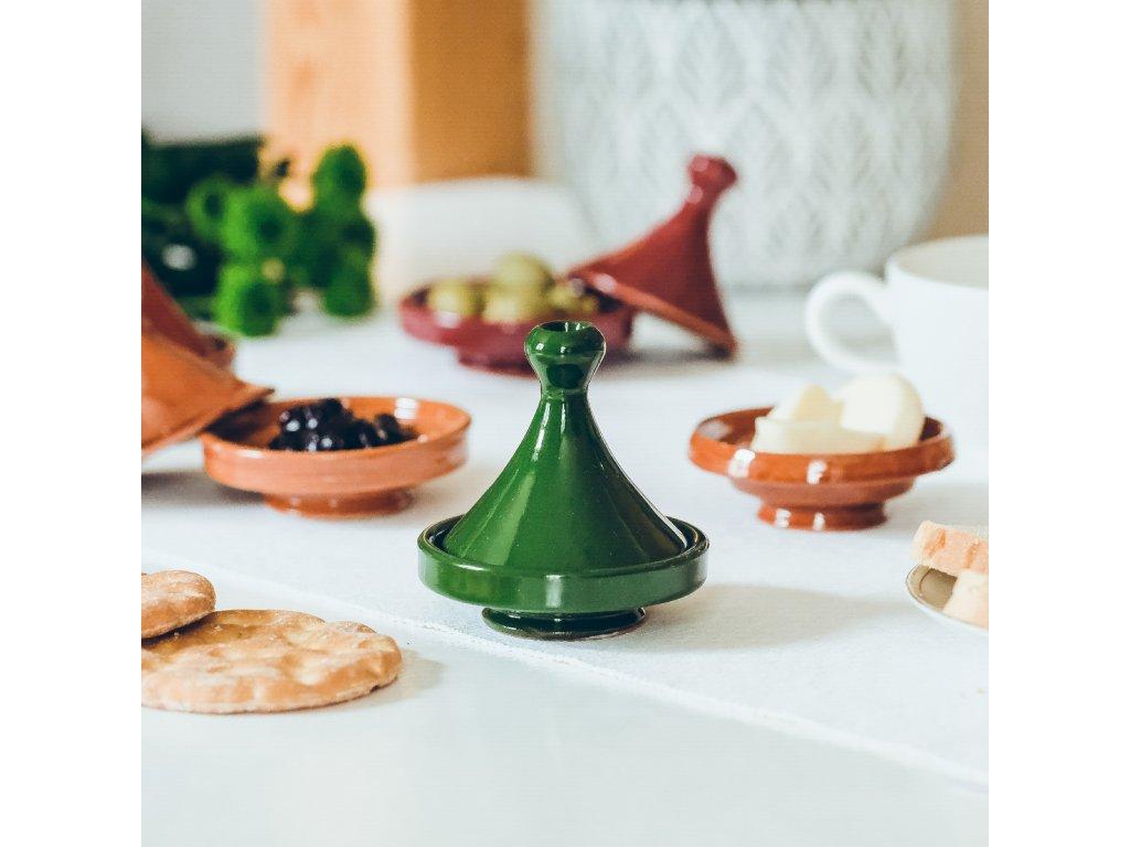 Marocký tajine Adil - zelený