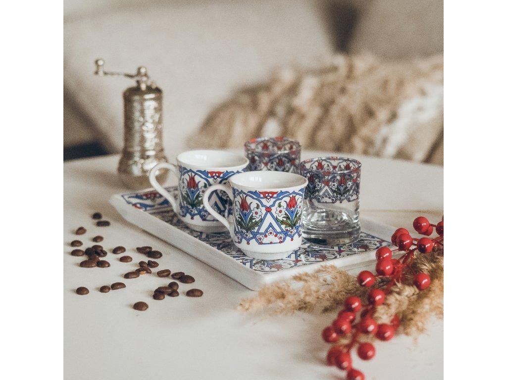 Keramický set na kávu pro dva - Lale