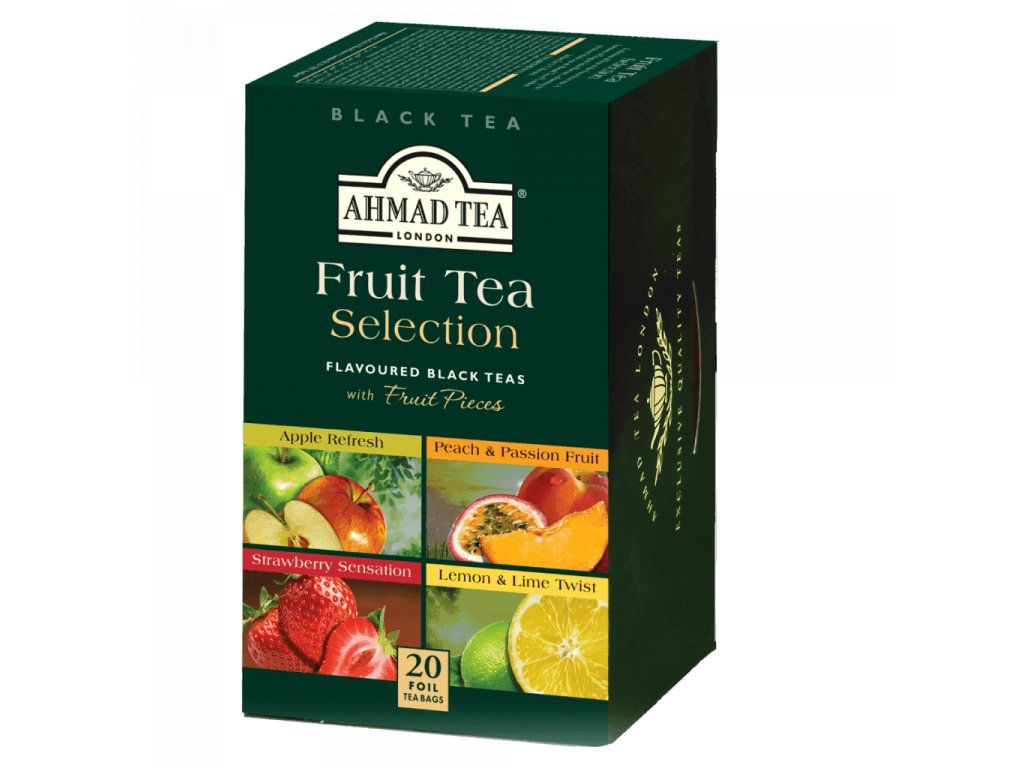 ahmad tea fruit selection