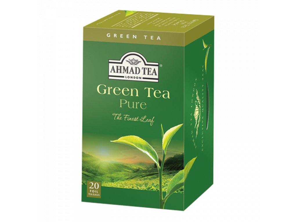 ahmad tea green tea pure