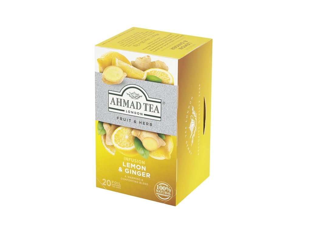 ahmad tea lemon ginger infusion