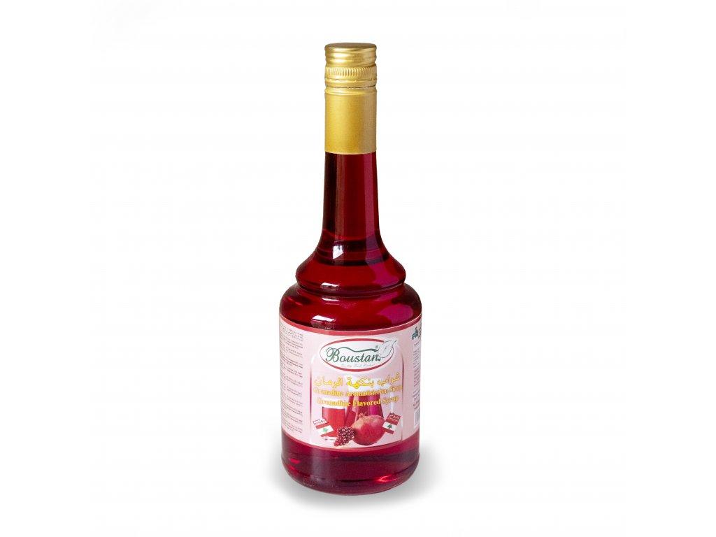 Sirup z granátových jablek - Boustan 600ml