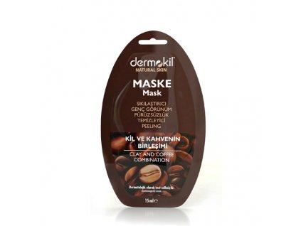 Kávová maska s jílem - Dermokil 15ml