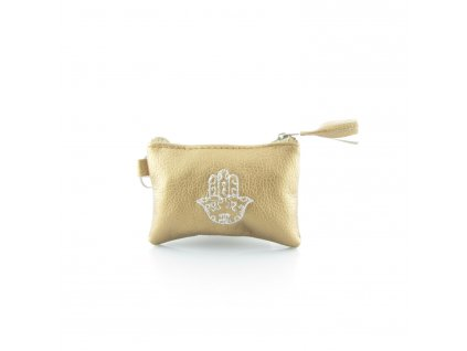 Pouzdro na klíče s rukou Fatimy - bronzové - mini