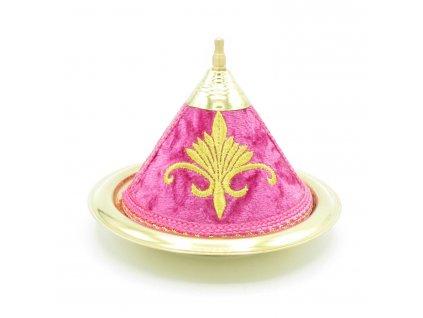 Marocký tajine Warda - dekorace - růžový