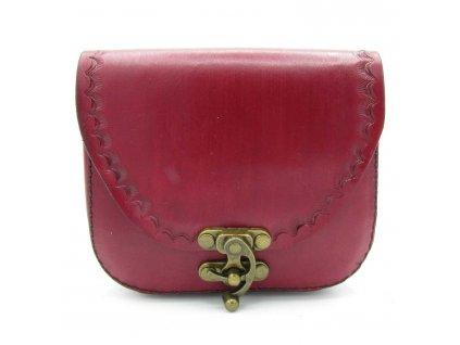 Vintage kabelka Amelia - červená