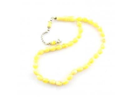 Růženec - Jantar - žlutý