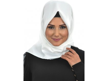 Šátek Hijab - Beyaz