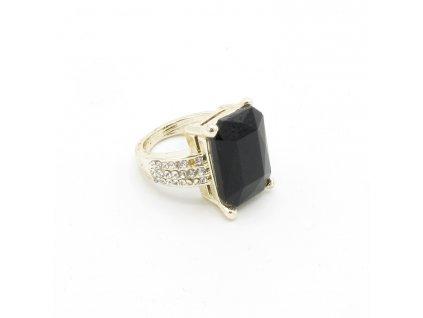 Prsten - Nisan - černý