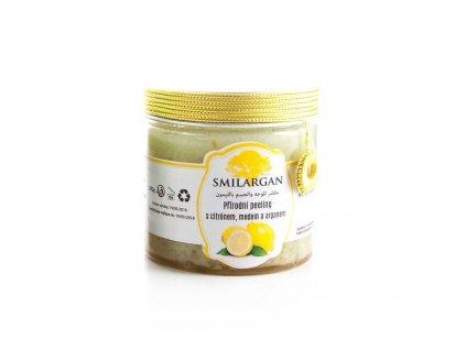 Smilargan Přírodní peeling s arganem, medem a citrónem 200g
