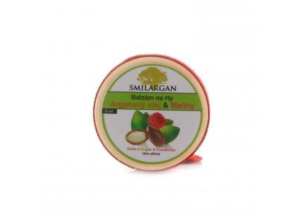 Balzám na rty s arganovým olejem a malinami 15ml
