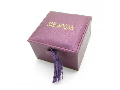 Krabička - šperkovnice Smilargan - fialová