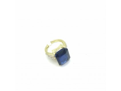 Prsten - Nisan - modrý
