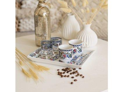 Keramický set na kávu pro dva - Emek