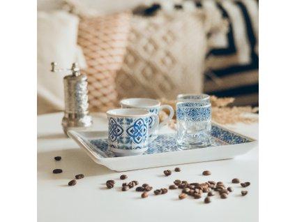 Keramický set na kávu pro dva - Mavi