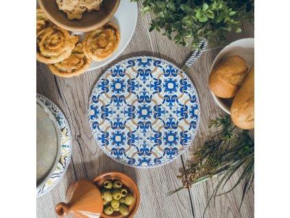 Keramická podložka pod pánev s marockým motivem - Alia
