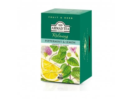 ahmad tea peppermint lemon