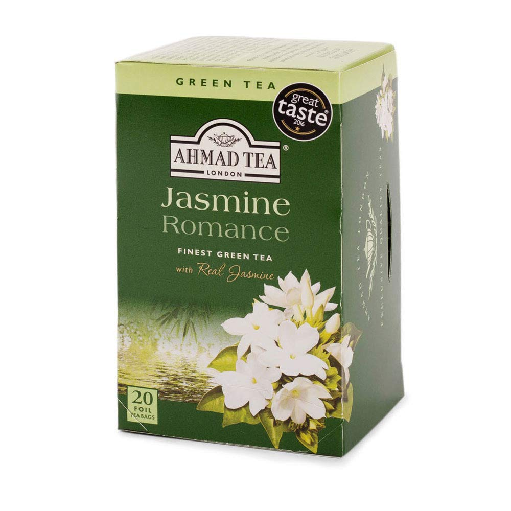 Ahmad Tea Green Tea Jasmine Romance 20 sáčků