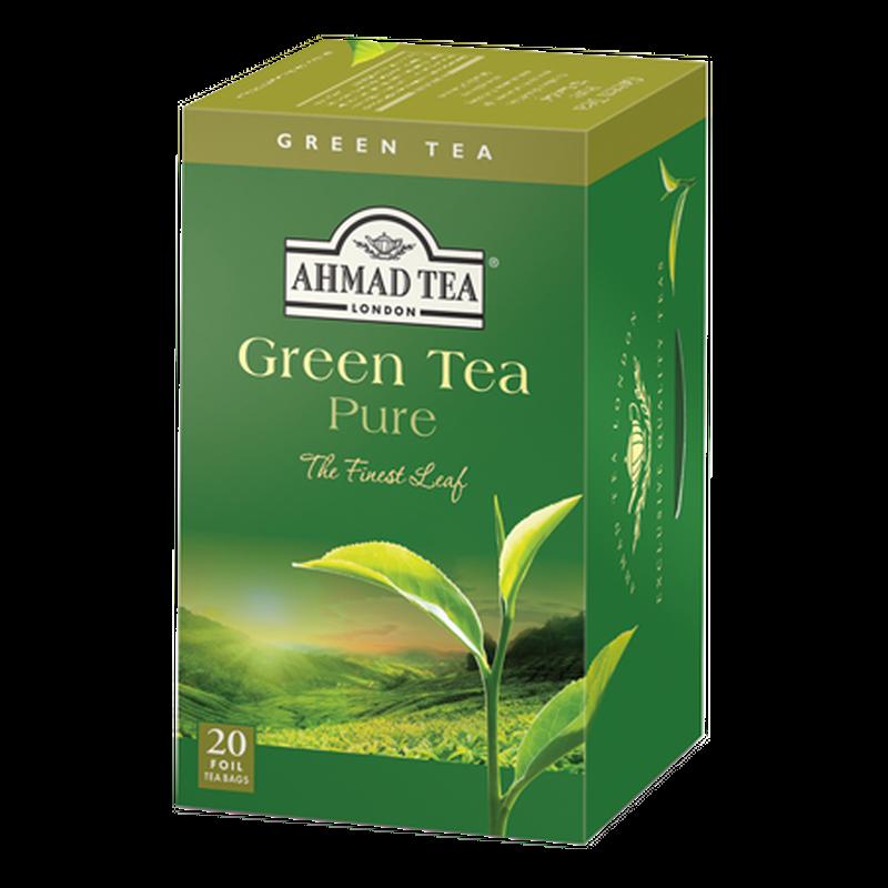 Ahmad Tea Green Tea Pure 20 x 2g