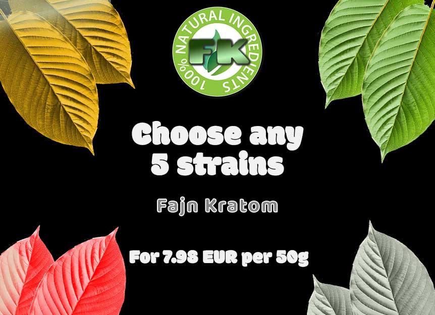 Sample Kratom packages