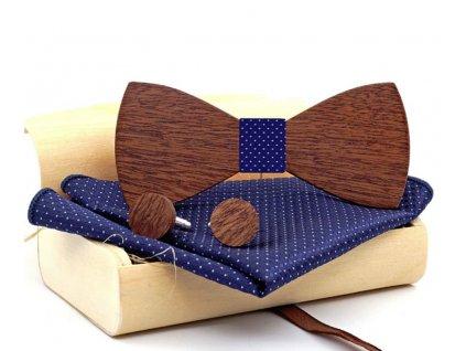Dřevěný motýlek - aktuální modní doplněk