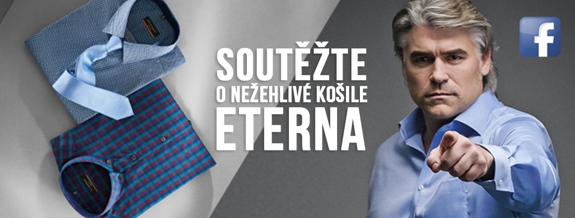 Soutěž o nežehlivé košile ETERNA