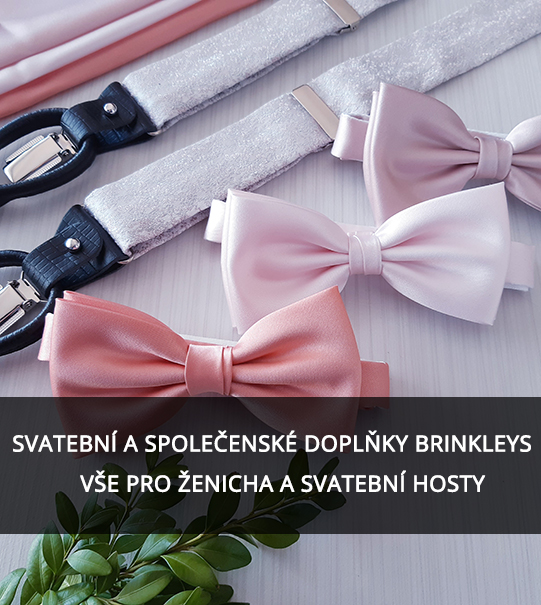 brinkleys.cz vše pro ženicha a svatební hosty.