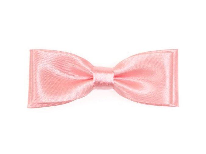 Dvojitý motýlek Avantgard Slim - růžový