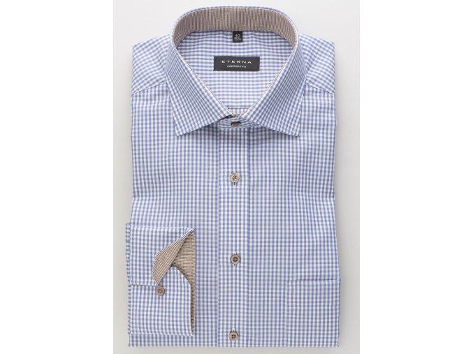 """Pánská košile Eterna Comfort Fit """"Vichy Popeline Kombi"""""""