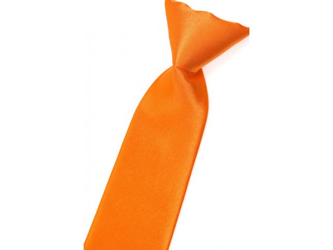 Chlapecká kravata Avantgard - oranžová