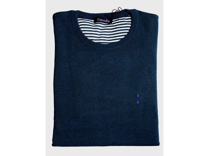 Pánský svetr Ilmodo - námořnická modrá