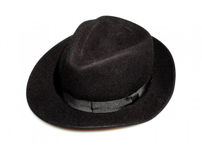 Pánský klobouk Karpet - černý