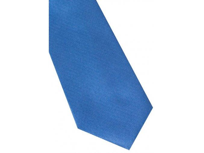 Hedvábná kravata Eterna - modrá