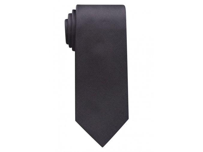 Jednobarevná kravata Eterna - šedá