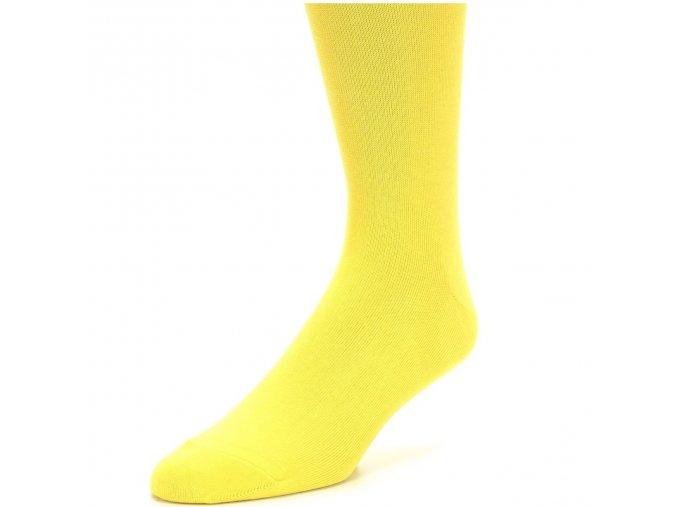 Pánské ponožky žluté