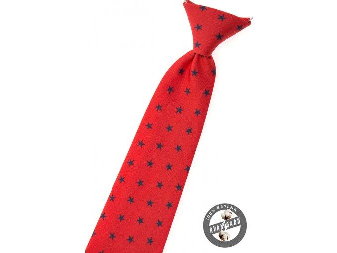 Chlapecká kravata Avantgard - červená